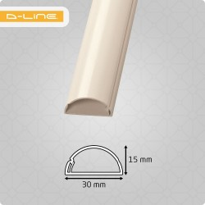 30x15mm Mini 1/2-Circle...