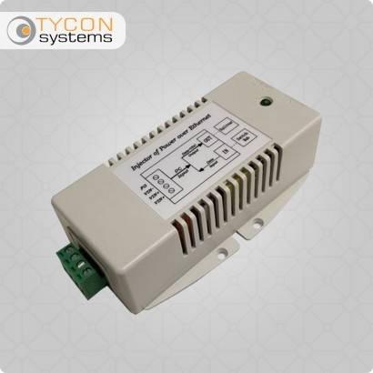 48VDCin, 802.3at PoE+ Inserter