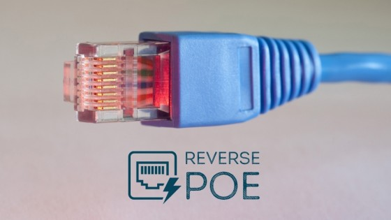 Reverse Power Over Ethernet